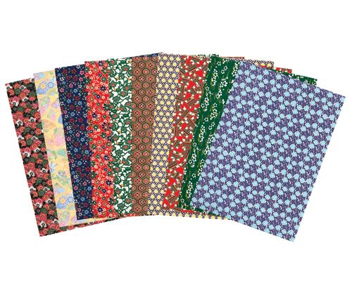 Oriental Paper A4 40pack assorted