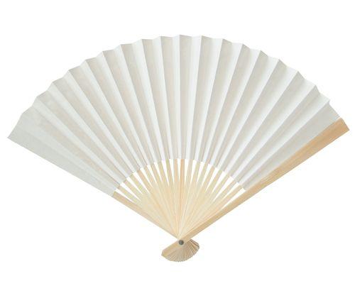 Paper Fans (blank 10pack)