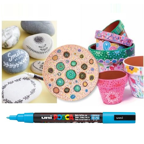 Uni Posca Paint Markers Fine 0.8-1.3mm