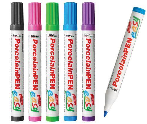 Porcelain Markers 5- Pastel Colours