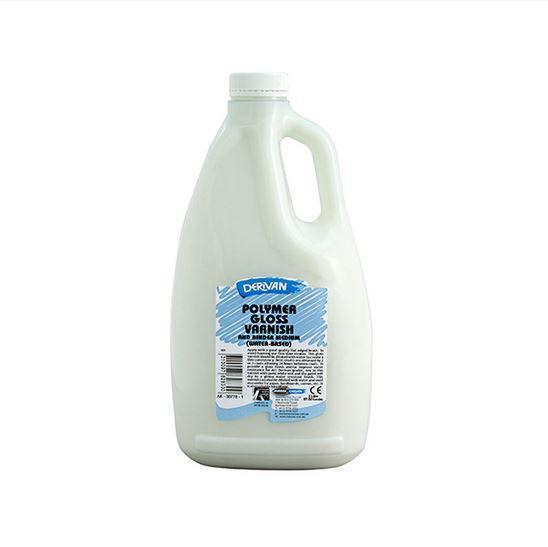 Derivan Polymer Gloss Varnish 2litre (Water Based)