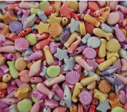 Sealife Beads 250 grams