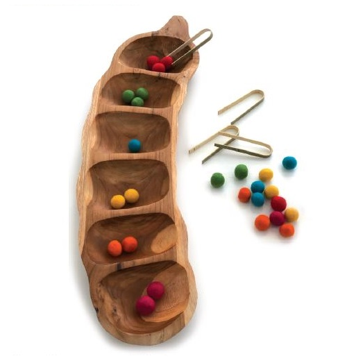 Wooden Sorting Pod