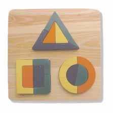 Square Shapes Puzzle