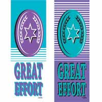 Great Effort Vinyl Medal Ribbon