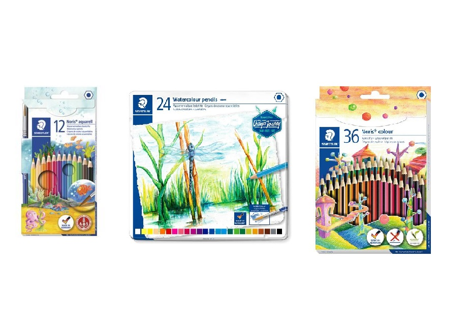 Staedtler Aquarell Water Soluble Pencils