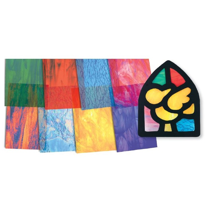 Stained Glass Paper