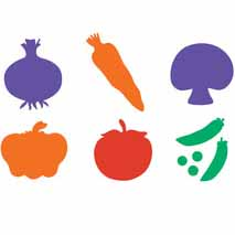 Stencil Vegetable
