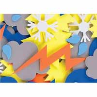 Foam Shapes Weather 360 pack