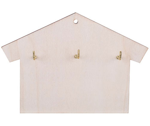 Wooden Keyhouse 12 x 17.5cm