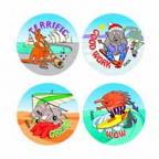Australiana Stickers 96 pack