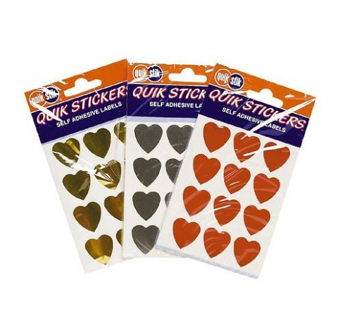 Quik Stick Hearts
