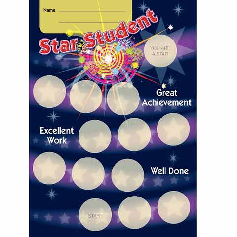 Star Student Achievement Card