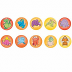 Dinosaur Dot Stickers 800 pack (DD402)
