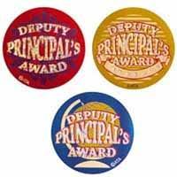Deputy Principals Award Foil Sticker
