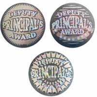Deputy Principal's Award Foil Sticker