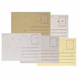 Handmade Paper Postcards