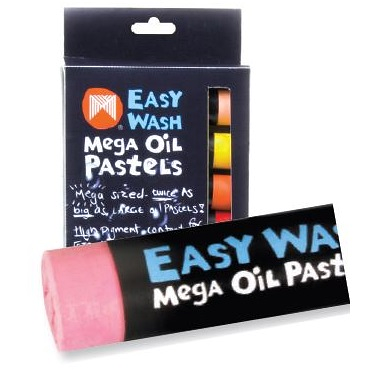 Micador Mega Oil Pastels 12 pack (Water Soluble)