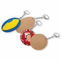Wooden Key Tags 30 pack