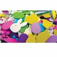 Foam Easter Shapes 65g