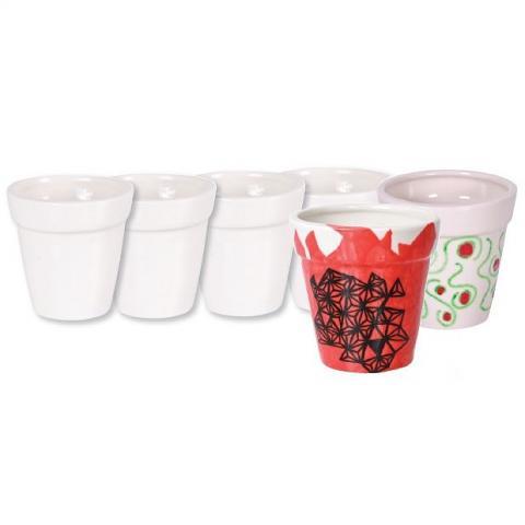 Ceramic Flower Pots 4pack