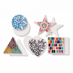 Ceramic Shapes 5pack