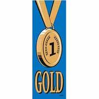 Gold 1 Vinyl Medal Ribbon