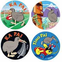 Maori Award Stickers 96 pack