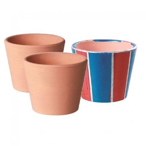 Terracotta Pots 10 pack