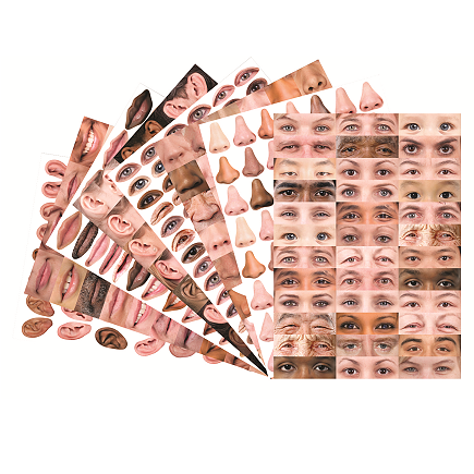 Face Paper Pack A3 40pk