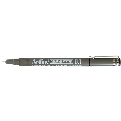 Artline 231 Drawing System 0.1mm Black