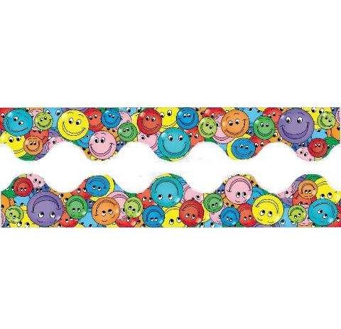 Smiles Scalloped Borders 10.8m x 55mm