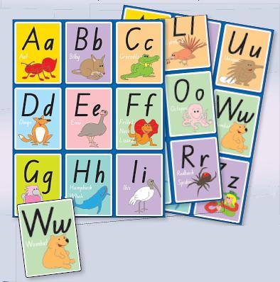 Alphabet Letters Activity Pack