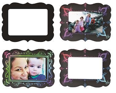 Scratch Art Magnets Frames 10pack
