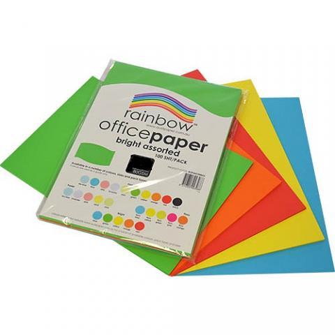 Photocopy Paper A3 Assorted 100 pack
