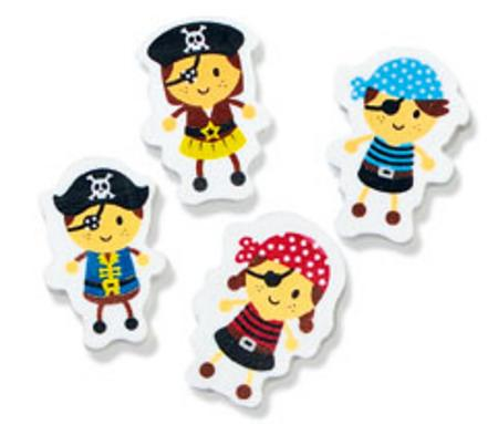 Little Pirate Erasers