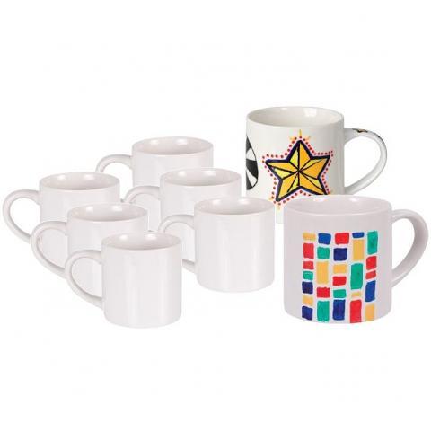 Ceramic Mugs 12 Pack