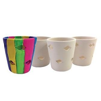 Ceramic Tea Light Holders 3pack
