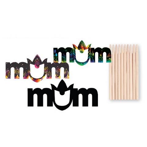Scratch Mum Magnet 10pack