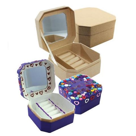 Paper Mache Jewellery Box