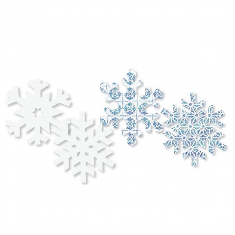 Scratch Art Snowflakes