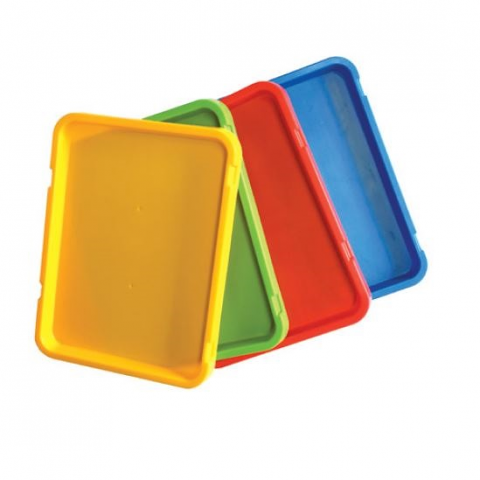 Painting Trays Coloured set of 4