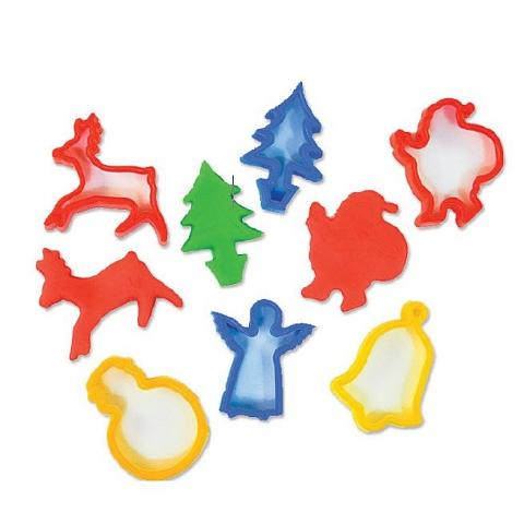 Christmas Cookie Cutters set of 6