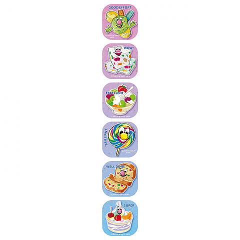 Scratch 'n Sniff Stickers Tuttin Fruti Scented 72 pack (SS1027)