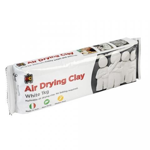 Air Dry Clay 1kg White