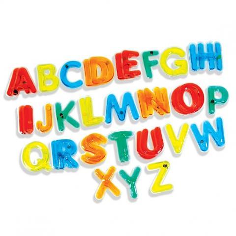 Light Learning: Uppercase Letters 38pkg