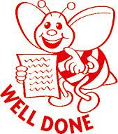 Stamper ST1206 Well Done Bee