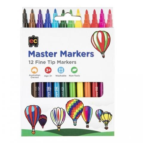 Master Markers Pack of 12