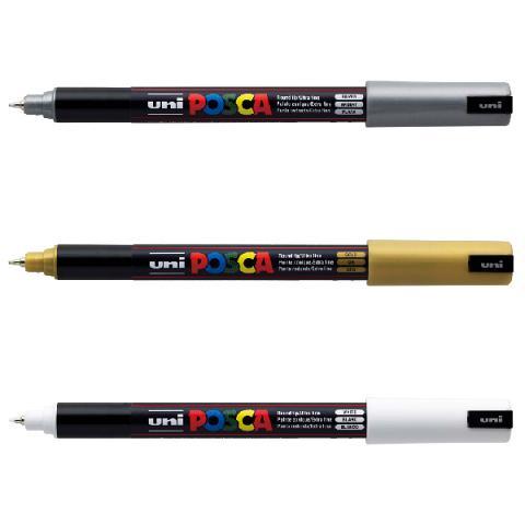 Uni Posca Paint Markers Ultra Fine 0.7mm