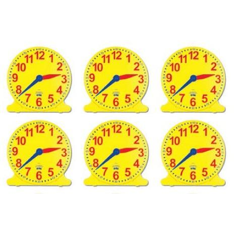 Teach Me - Student Clock set of 6